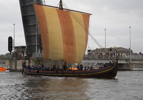 VIKING LONGSHIP &quot;SEA STALLION&quot; ARRIVES IN<br /> DUBLIN