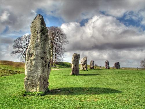 Avebury Stones HDR 4118