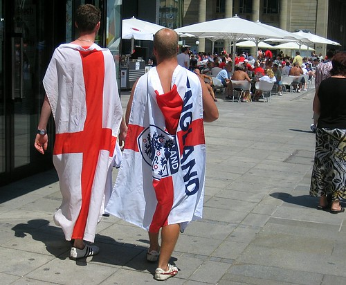 World Cup - England fans