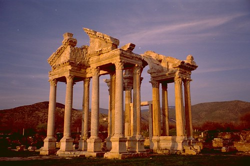 The Temple of Aphrodisias, Turkey. Image Credit - balavenise