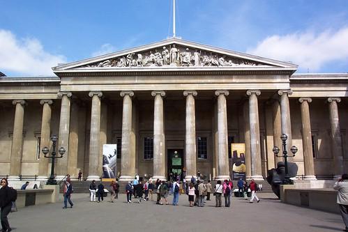 British Museum's Entrance