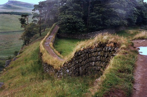 Hadrian's Wall, near Housesteads