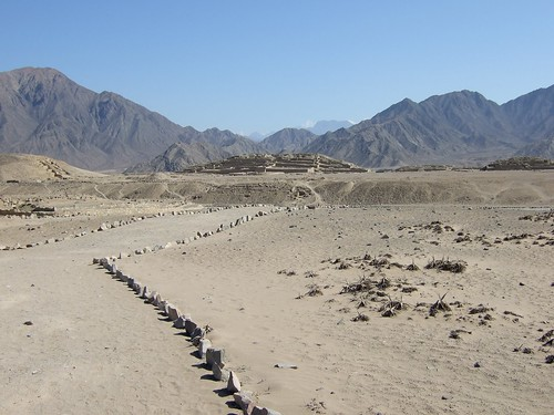5000 year-old ruins, Caral