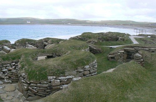Ancient Houses at Skara Brae