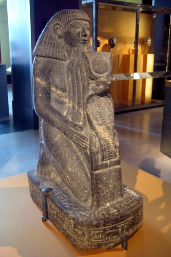 NYC - Brooklyn Museum - Kneeling Statue of Senenmut