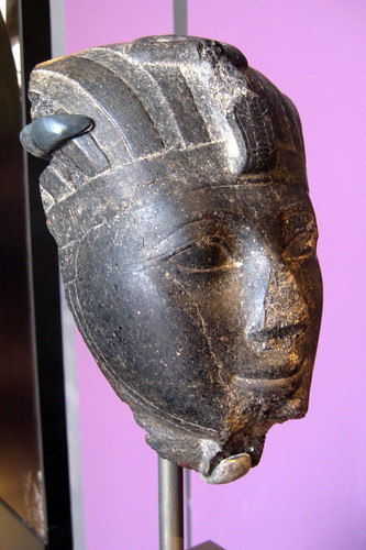 NYC - Brooklyn Museum - Head of Hatshepsut or Thutmose III