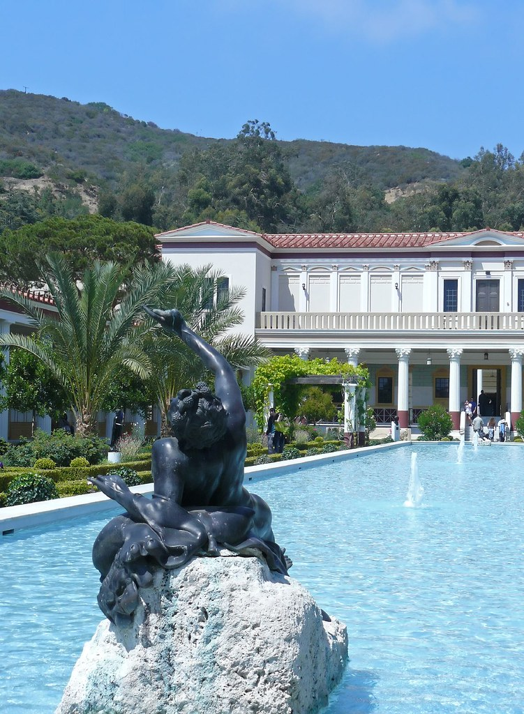 Outer Peristyle Garden at the Getty Villa (8)