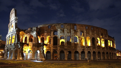 The Colosseum of Rome. Image Credit - Dmitriy Moiseyev.