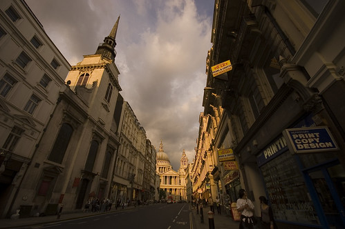 The current St Paul's Cathedral is the fourth cathedral to stand on top of Ludgate Hill. Image Credit - Joe Dunckley.