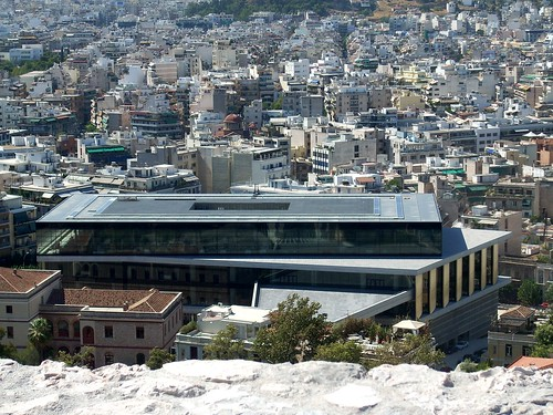 New Acropolis Museum from Acropolis