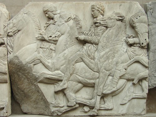 Parthenon Frieze Section