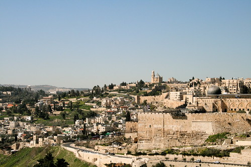 Mount Zion, Jerusalem where the mysterious mug was found. Image credit - KOREphotos.