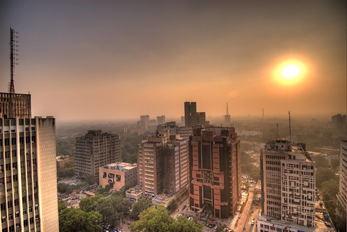 The modern day Connaught Place, Delhi. Image Credit - Ville Miettinen.