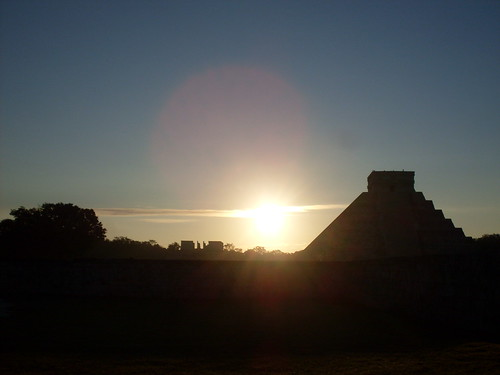 Chichen Itza sunrise