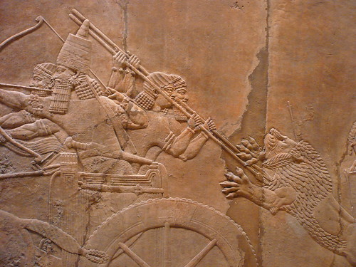 King Ashurbanipal's Royal Lion Hunt