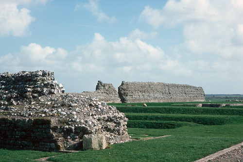Richborough Castle (remains), Kent (1977)