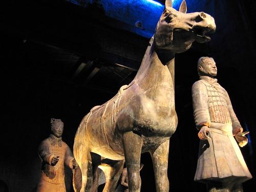 Terracotta Warriors & Horse. Image Credit - veenhuis2003.