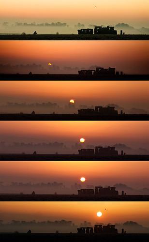 Sunrise at Stonehenge (Time Lapse)