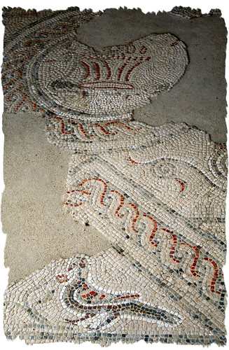 Chedworth Bath House Mosaic