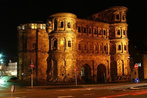 Porta Nigra (Built approx 160AD) in Trier, Germany. Image Credit - HD N.