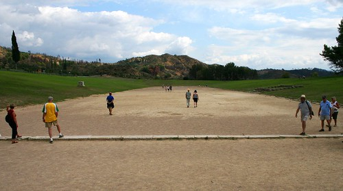 Ancient Olympia Stadium - Site of the First Olympics
