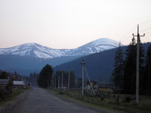 Mountain Hoverla