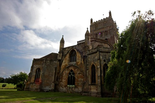 The Abbey of the Blessed Virgin Mary at Tewkesbury. Image Credit - Hadyn Curtis.