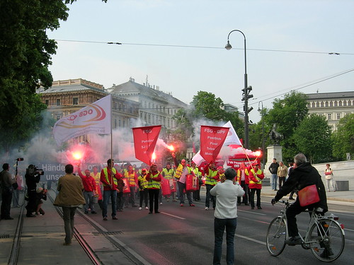 May Day in Vienna Austria