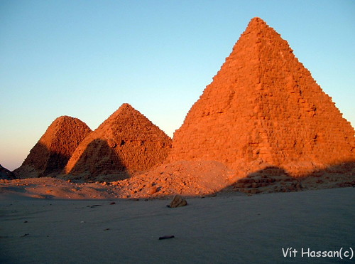 The Pyramids of Nuri, Northern Sudan. Image Credit - Vt Hassan.
