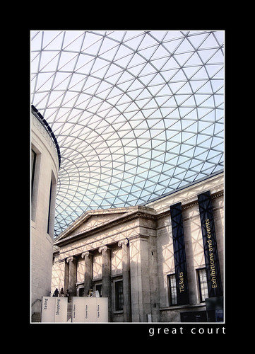 Great Court of the British Museum. Image Credit - Prad Patel.