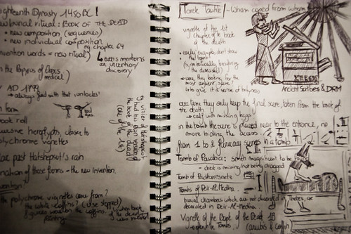 Egyptological Colloquium 2009 - Random Notes