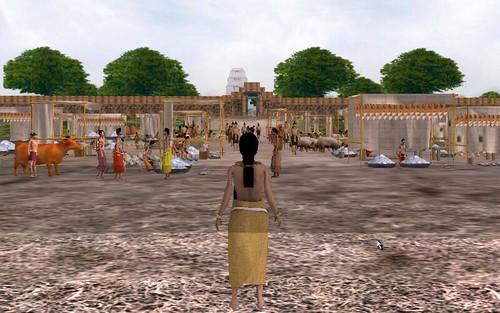 Virtual Sambor Prei Kuk - Entering the Market Place