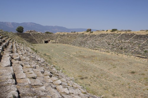 The stadium, Aphrodisias. Image Credit - Hector16