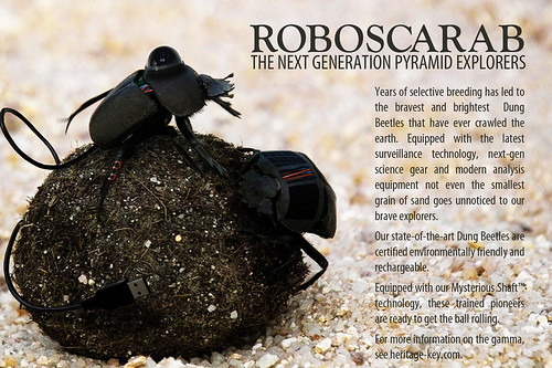 RoboScarab - The Next Generation Pyramid Explorer