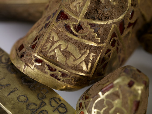 Artefacts from the Staffordshire Hoard