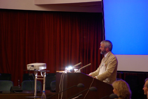 Egyptology conference in Moscow, Day 2: the lecure of the chairman Dr. Nigel Studwick