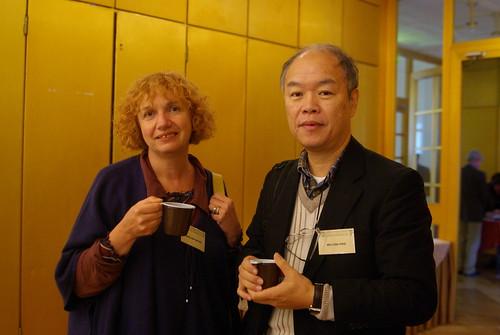 Dr. Marilina Betro and Dr. Mu-chou Poo