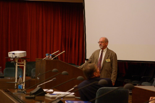 Egyptology conference in Moscow, Day 2: Dr. Erwin Brock presents his lecture