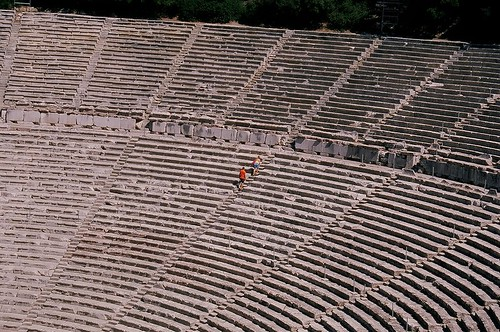 teatro di epidauro, argolide