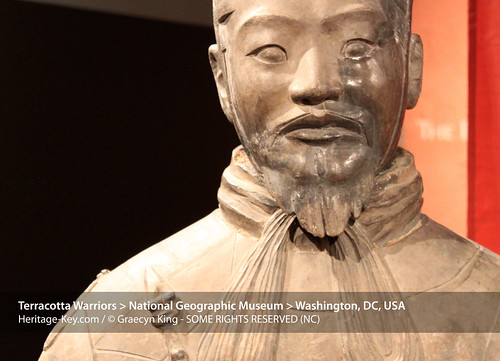 Terracotta Army Exhibit at the National Geographic Museum