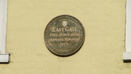 Site of Colchester's Roman east gate