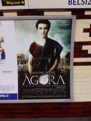 Film 'Agora' comes to London! Finally!