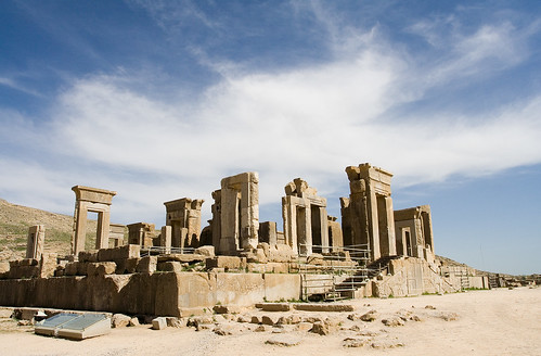 Ancient palace in Persepolis, Iran