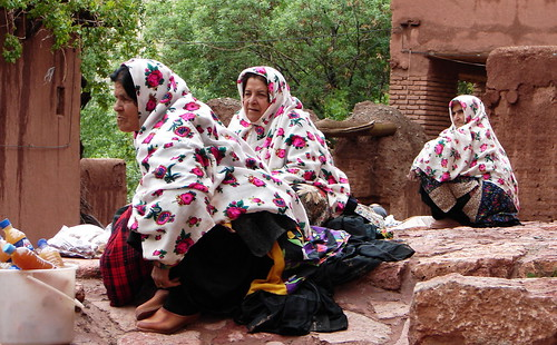 Badger Women in Abyaneh