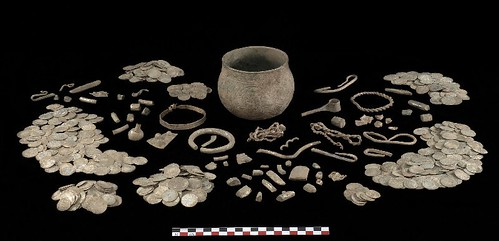 Contents of the Harrogate Hoard vessel