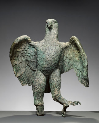 Roman Imperial Eagle, Bronze, 100-300 A.D. Image courtesy of The J. Paul Getty Museum, Villa Collection, Malibu, California.