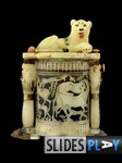 The Cosmetic Jar with Recumbent Lion. Image Copyright - Sandro Vannini.