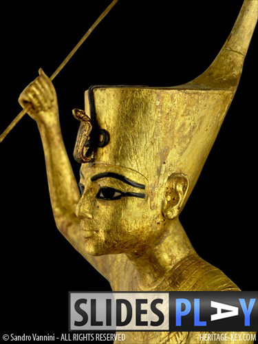 The Ritual Figures of King Tutankhamun were discovered inside KV62, and total 34 statues inside resin-covered shrines. Image Copyright - Sandro Vannini.