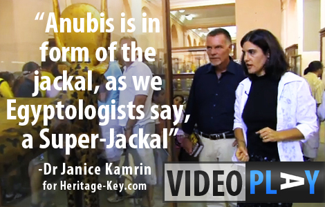 Dr Janice Kamrin talks about Animal Iconography of the artefacts found in the Tomb of King Tutankhamun. Click image to skip to the video.