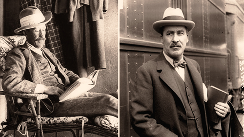 Lord Carnarvon (left) and Howard Carter (right) could not have found the Tomb of King Tutankhamun without each other's help.